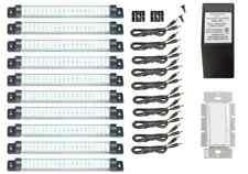 LED Hardwire Kitchen Kit, TEN Cool White Designer Series Panels, Dimmable LEDs