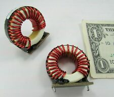 2 Large Falco Vertical Inductors Through Hole Toroid 14AWG Wire 121102031-P5