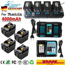 100% Neu LED Akku für Makita BL1415 N BL1440 BL1430 B 14,4V 4Ah Li-Ion Ladegerät