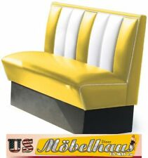 HW-120y American Diner Bench Seating Furniture 50´S USA Style Catering
