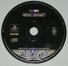 Winter Releases Demo Disc - PS1 SCED-02306 - PAL Spyro 2 CTR Wipeout 3 + more