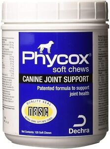 Phycox Canine Joint Support (120 Soft Chews) - Fast Free Shipping