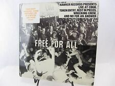 Mint LP FREE FOR ALL LIVE @ CBGB Token Entry Rest In Pieces Wrecking Crew no for