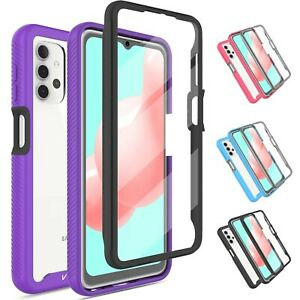 For Samsung Galaxy A71,A32,A52,A72 5G Case Cover With Built-in Screen Protector