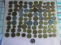 QUALITY COLLECTION OF 91 COINS OF FRANCE[#050]1960 TO1999