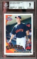 2010 topps opening day #207 BUSTER POSEY giants rookie card BGS 9 (8.5 9 9 9.5)