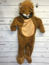 Lion Halloween Plush Costume Child Toddler Size 18-24 Months