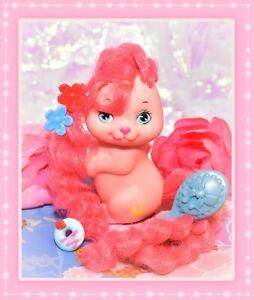 ❤️Vtg Mattel Little Pretty Kitty PUPPY My Little Pony Flutterina Pink Dog 1989❤️