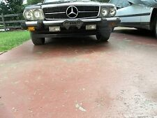 86-89 Mercedes 560 SL lower front VALANCE SPOILER RARE grey 1077900288 INTACT