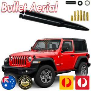 50 CAL Bullet Antenna / Aerial for Jeep Wrangler JK & JL Gladiator 2007 - 2021