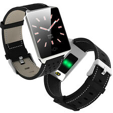 Waterproof Touch screen Smart Watch Compatible with iPhone Samsung Men Women