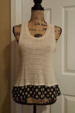 uo urban outfitters cooperative cute daisy knit top small s crop top flowy