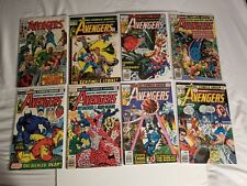 Avengers Lot #81- 217 ( 18 books ) VG/F