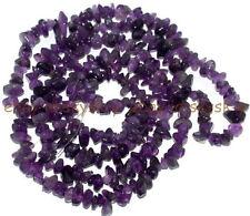"Jewelry Making 6-7mm Freeform Chips Amethyst Genstone Loose  Beads Strand 32"""