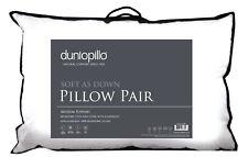 Dunlopillo Soft As Down Pillow Pack of 2 Medium Support Non-Allergenic Pillows