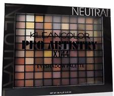 KleanColor Pro Artistry X144  Neutral Professional EyeShadow Palette HUGE