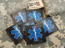 "SNAKE PATCH "" STAR OF LIFE "" EMT US ambulancier MEDIC médecin GALON scratch PVC"