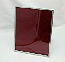 Vintage Sterling Solid Silver Large Photograph Frame Photo (416/9/VON)