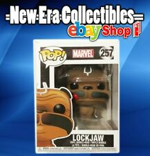 Pop Marvel Series Funko Lock Jaw Vinyl Bobble-Head Figure 257 Pop! Collectibles