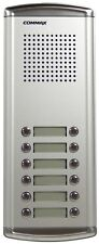 COMMAX 12 Buttons Audio Intercom Door Bell Panel for Apartment DR-12AM