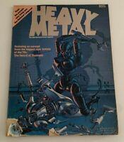 Heavy Metal Adult Fantasy Magazine 1st Issue 4 Comic Lot!
