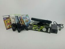 Xbox 360 Console with Kinect Sensor, 2 Wireless controllers and 5 Games