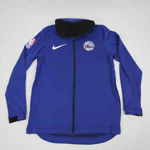 Philadelphia 76ers Nike NBA Authentics  Jacket Men's Blue New with Tags