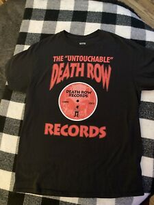 Authentic Death Row Records Short Sleeve T Shirt mens Size LARGE Ripple Junction