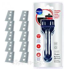 Indesit Induction Ceramic Glass Hob Scraper Anti Scratch Cooker Tool + 11 Blades
