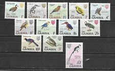 GAMBIA 1966 1d - £1  MINT hinged