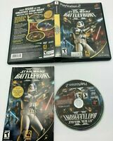 Star Wars: Battlefront II (PlayStation 2, 2005)CLEANED & TESTED! ADULT OWNED!