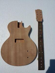 New project electric guitar kit JR single cut