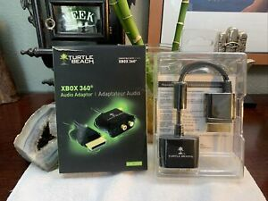 Turtle Beach TBS-0100-01 Ear Force Audio Adapter for Xbox 360 - Black Brand NEW