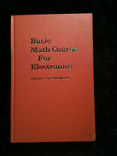 Basic Math Course For Electronics by Henry Jacobowitz 1962