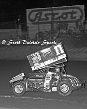 WORLD OF OUTLAWS PACIFIC COAST OPEN STEVE KINSER 8 X 10 ASCOT SPRINT CAR PHOTO