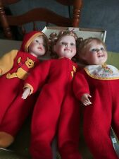 Aston Drake Lot Of 3 Disney Winnie The Pooh. Porcelain dolls