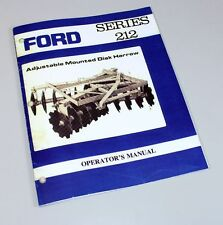 heavy equipment manuals books for disc harrow and ford ebay rh ebay com