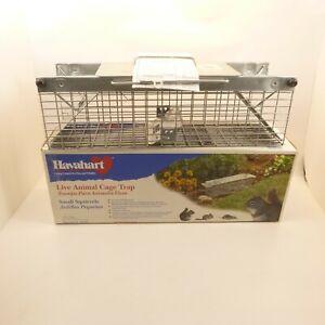"HAVAHART Small Live Animal Cage Trap 2 Door 18""L x 5""W x 5""H Model #1025"