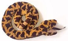 Vintage Dakin Rattlesnake Plush Stuffed Animal Toy Coiled Rattle Tail 1987 Snake