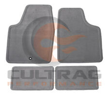 2006-2013 Chevrolet Impala GM Front & Rear Carpet Floor Mats Titanium 15237888