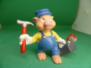 Bullyland - 3 kleine Schweinchen - Schweinchen Schlau