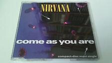 "NIRVANA ""COME AS YOU ARE"" CD SINGLE 4 TRACKS"