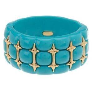 QVC Turquoise Quilted Color Stretch Bangle Bracelet SOLD OUT $129