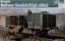 Trumpeter  1/35 scale  Railway Gondola (High Sides) #01517