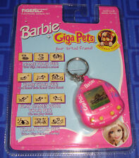 LAST 1> BARBIE Giga Pets Electronic Handheld Keychain Game New In Package