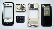 Black housing cover fascia facia  faceplate case for Nokia 6110 Navigator 6110N