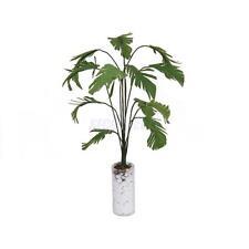 "1:12 Scale Dollhouse Miniature Green Banana Tree w Vase Home Garden Decor 4.33"""
