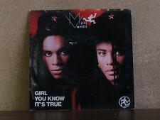 """MILLI VANILLI, GIRL YOU KNOW IT'S TRUE - 7"""" AS1-9781"""