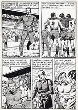 FINALE DE COUPE FOOTBALL (ROBERT HUGUES) PLANCHE ORIGINALE PILAR SANTOS PAGE 27