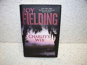 Charley's Web by Joy Fielding Hardback Book